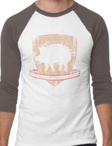 House Pork - Bacon is Coming Men's Baseball ¾ T-Shirt