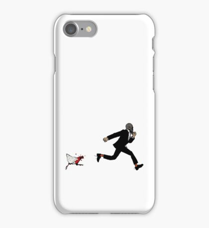 Leroy Having To Deal With The Unexpected Return Of That Dreaded No Good Evil Zombie Chicken iPhone Case/Skin