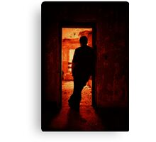 Alone In The Endzone Canvas Print