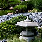Japanese garden by Celeste Mookherjee