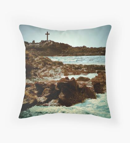 Earth - Sky - Water - Life Throw Pillow
