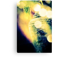 Head of Buddha Canvas Print