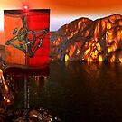 """""""It Says...All who impinge upon my golden lake will die..."""" by XadrikXu"""