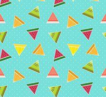 Tutti Frutti Pizza by Corinna Djaferis