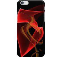 Heart's Golden Ribbon iPhone Case/Skin