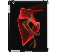 Heart's Golden Ribbon iPad Case/Skin