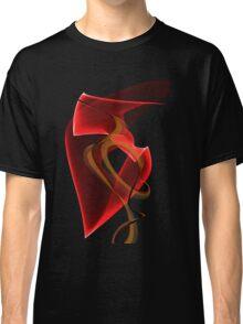 Heart's Golden Ribbon Classic T-Shirt