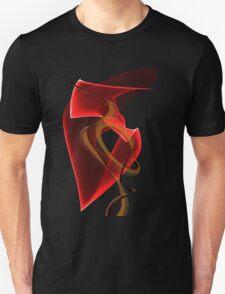 Heart's Golden Ribbon T-Shirt