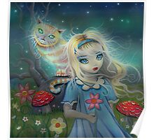 Alice in Wonderland by Molly Harrison Poster