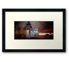 Engine 6 Pumper  Framed Print