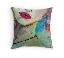 Watercolours Throw Pillow