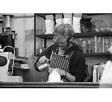 Degreaves Barista Photographic Print