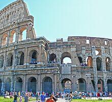 Roma Colosseo - Rome Colosseum by Fred Seghetti