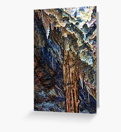 Lewis & Clark Caverns 1 (Montana, USA) Greeting Card