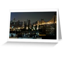 Manhattan from Queens. Greeting Card