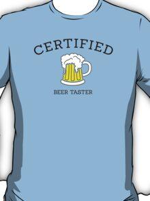 Certified beer taster T-Shirt