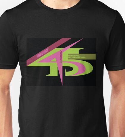 PRODUCT 45 book jacket Australian Punk / Post Punk Record covers COL Unisex T-Shirt