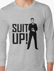 Barney Suit Up Long Sleeve T-Shirt