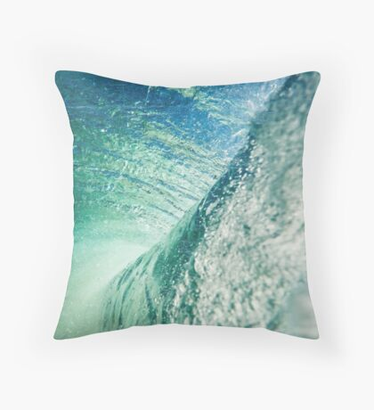 The Blue Boundary #redbubble Throw Pillow