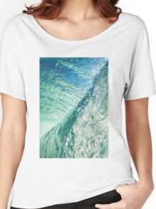 The Blue Boundary #redbubble Women's Relaxed Fit T-Shirt