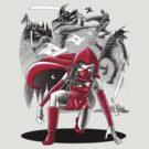 Ninja Red Riding Hood by qetza