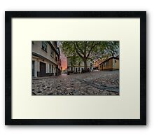 Elm Hill Dawn Framed Print
