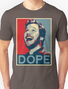 """Andy Dwyer - Obama """"Dope"""" Poster T-Shirt"""