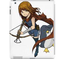 Penguin Girl iPad Case/Skin