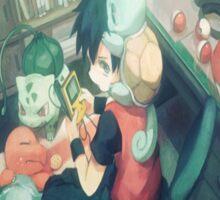Bothersome Pokemon/Annoyed Ash Sticker