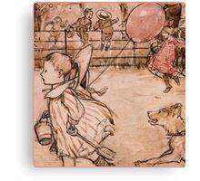 PINK BALLOON Canvas Print