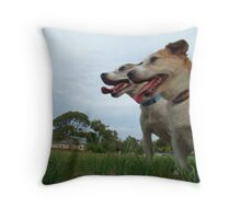 Mutters in the Park 1 Throw Pillow