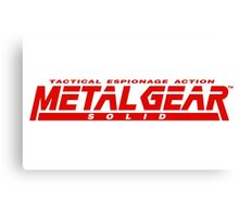Metal Gear Solid Mug Canvas Print