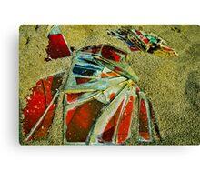 Colorful Ending Canvas Print