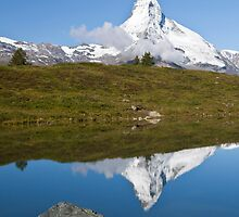 Matterhorn Reflection by Béla Török