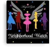 Madoka Magica - Neighbourhood Watch  Canvas Print
