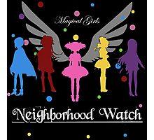 Madoka Magica - Neighbourhood Watch  Photographic Print