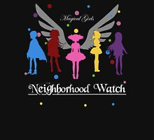Madoka Magica - Neighbourhood Watch  Womens Fitted T-Shirt