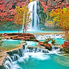 Beautiful Waterfall by Fred Seghetti