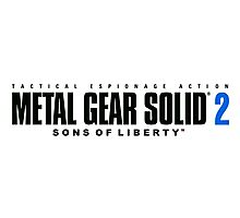 Metal Gear Solid 2 Mug Photographic Print