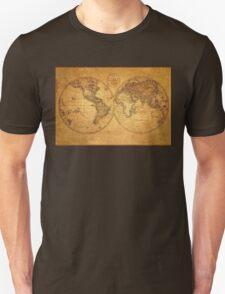 OUR WORLD ANTIQUE Map T-Shirt