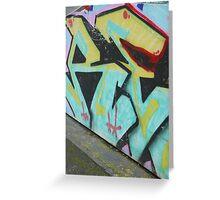 AE-Graffiti Greeting Card