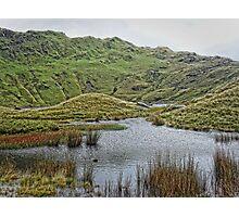 Exploring Snowdon Photographic Print