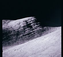 Apollo Archive 0081 Moon Mountains by wetdryvac