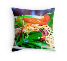 Salad Throw Pillow