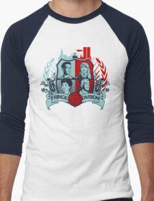 Fringe Division Crest  Men's Baseball ¾ T-Shirt