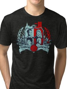 Fringe Division Crest  Tri-blend T-Shirt