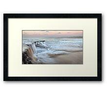 Ocean Waterfall Framed Print
