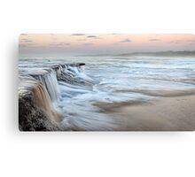 Ocean Waterfall Canvas Print