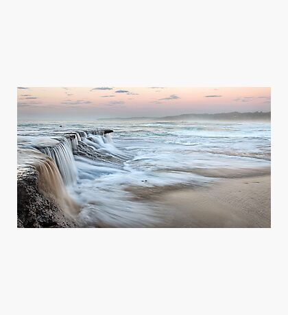 Ocean Waterfall Photographic Print