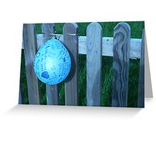 On The Fence Greeting Card